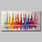 Large Hand Painted Modern Abstract Knife Oil Painting On Canvas Wall Picture For Home Decoration R