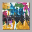IARTS Hand Painted Oil Painting Modern Colorful Bright Abstract Wall Art Acrylic Canvas Wall Art F