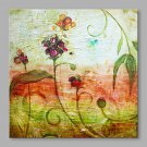 IARTS Hand Painted Oil Painting Modern Spring Floral Abstract Art Acrylic Canvas Wall Art For Home