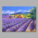 IARTS Hand Painted Oil Painting Vintage Summer Provence Abstract Art Acrylic Canvas Wall Art For H