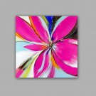 100% Hand-Painted Abstract / Floral/Botanical Hang-Painted Oil PaintingModern / Classic One Panel