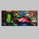 Large Size Hand Painted Abstract Canvas Oil Paintings Modern Wall Art For Home Decor With Stretche