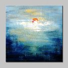 Hand Painted Canvas Oil Painting Modern Abstract Wall Art Picture With Stretched Frame Ready To Ha