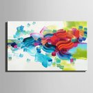 E-HOME Oil painting Modern The Colour Of Profusion Pure Hand Draw Frameless Decorative Painting
