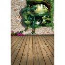 Prints Poster 3D Dinosaur Pictures Print On Canvas  1pcs/set (Without Frame)