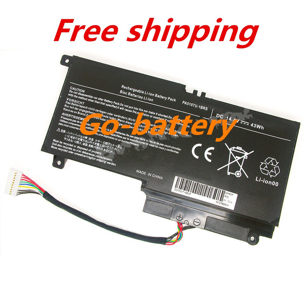 New Battery For Toshiba Satellite L55-A5284NR  L55-A5284  L55-A5278 L55-A5234
