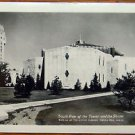 SHRINE of LITTLE FLOWER & TOWER-ROYAL OAK, MICHIGAN-VINTAGE RPPC PHOTO POSTCARD