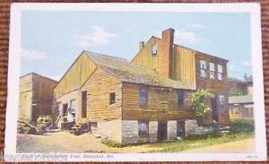 Huckleberry Finn Home-Hannibal, Missouri-Vintage Antique Building Postcard