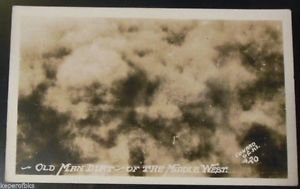 Old Man Dirt of the Middle West - F. D. Conard Antique Real Photo Postcard