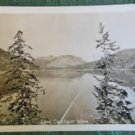LAKE CRESCENT, WASHINGTON STATE-VINTAGE KODAK RPPC REAL PHOTO POSTCARD