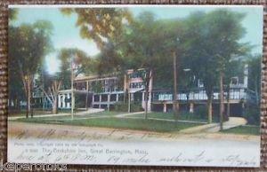 Berkshire Inn-Great Barrington, Mass.-Vintage Antique UNDIVIDED 1907 Postcard