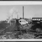 Northwest Lumber Mill-ANTIQUE VINTAGE RPPS REAL PHOTO POSTCARD Weller 247