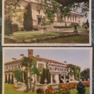 Lot of 2 Huntington Library & Art Gallery-San Marino, Calif Vintage Postcard