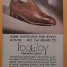 Foot - Joy Shoes Unused Blotter John A. Simpson Portland, Oregon 1940's