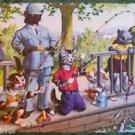 ANTHROPORMORPHIC DRESSED CAT POSTCARD-MAINZER HARTUNG-KIDS FISHIN POLICEMAN 4925