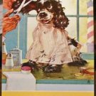 Butch the Dog Get Trim-Staehle-Jim & Howard Texaco, Oregon-VTG Swap Playing Card