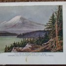 Mount Rainier from Seattle, Washington-Vintage Antique c 1903 UNDIVIDED Postcard