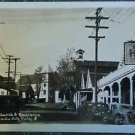 NEVADA CITY, CALIF-THEATRE-NY HOTEL-STREET VIEW CARS-VINTAGE RPPC PHOTO POSTCARD