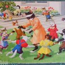 ANTHROPOMORPHIC DRESS CAT HARTUNG POSTCARD-MAINZER SWISS KUNZLI-RING ARO ROSEY