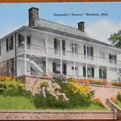 CONNELLY'S TAVERN - BAR in NATCHEZ, MISSISSIPPI-1940's LINEN POSTCARD