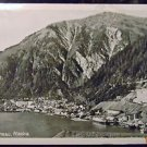 JUNEAU, ALASKA - HARBOR SHIP TOWN VIEW 1969 VINTAGE RPPC PHOTO POSTCARD-JOHNSTON