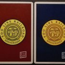 SOO Line Railroad 75th Anniversary RR Vintage Swap Playing Card Pair 1883-1958