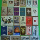 28 Different VINTAGE 1940-1980 Advertising SWAP PLAYING CARDS-9 Pairs
