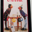 "COCA COLA AD AFRICAN AMERICAN CHILDS ""BIRTHDAY SMILES"" MODERN SWAP PLAYING CARD"