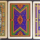 Vintage Graphic Swap Playing Cards-Lot of 3 - Altered Art-Doll House Rugs
