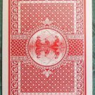 Boys in Fishing Boat Filigree Back Victorian Antique VTG Wide Swap Playing Card