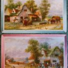 """MEADOW MERE"" #1866 OLD COUNTRY COTTAGE BEACH HOUSES-MODERN SWAP PLAYING CARDS"