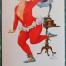 HILDA DANCES RED LONG JOHNS-BRYERS PIN UP AD-AMER PIPE CO-VTG SWAP PLAYING CARD