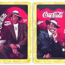COCA COLA AFRICAN AMERICAN MAN in HAT MODERN SWAP PLAYING CARDS BLACK AMERICANA