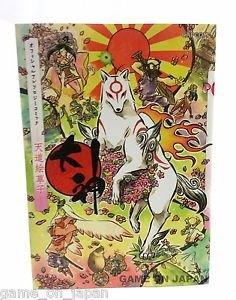 Okami Official Anthology Japanese Manga Capcom Japan Import Used