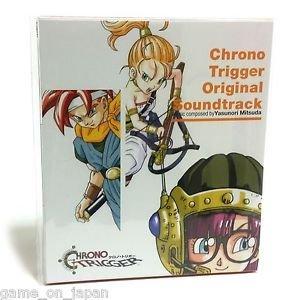 Chrono Trigger Original Soundtrack Import Japan
