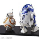 Star Wars BB-8 & R2-D2 1/12 scale Plastic Model Kit Figure The Force Awakens