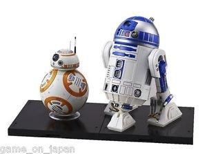 Star Wars BB-8 & R2-D2 1/12 scale Plastic Model Kit Figure The Force Awakens
