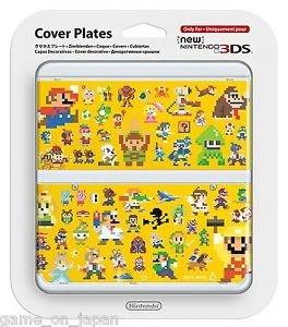 Super Mario Maker New Nintendo 3DS Cover Mario Bros Kisekae Plate Japan Import