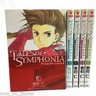 Tales of Symphonia Japanese Manga Japan Import Set of 5 Books Used