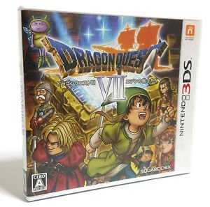 Dragon Quest 7 Nintendo 3DS Game Japanese Import RPG  DQ7 Used