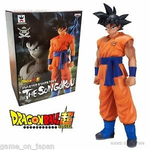 Dragon Ball Z Goku Figure Masters of the Star Banpresto Japan Original