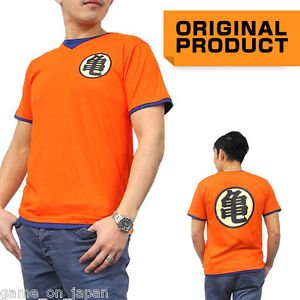 Dragon Ball Z T shirt Anime Goku DBZ kame Kanji Costume Saiyan Cosplay Japan