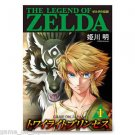 Legend of Zelda Twilight Princess Japanese Manga Japan Hirakana Kanji Reading