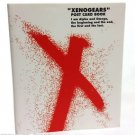 Xenogears illustration postcard book Japan Square Import Rare