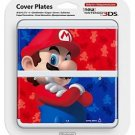 Super Mario Bros New Nintendo 3DS Cover Mario Bros Kisekae Plate Japan Import