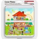Animal Crossing New Nintendo 3DS  Kisekae Plate Doubutsu no Mori Cover Japan