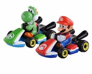 Mario Kart 8 Takara Tomy Tomica Super Mario Brothers Yoshi Set Nintendo Original