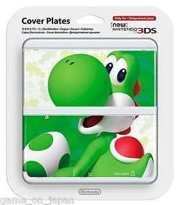 Yoshi Super Mario New Nintendo 3DS Cover Mario Bros Kisekae Plate Japan Import