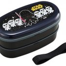Star Wars Lunch Box set 2 tier Container Japanese Bento Box Kids Japan School