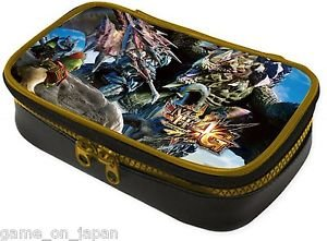 Monster Hunter 4G Pouch Nintendo 3DS LL (XL)  Capcom Japan Import